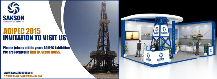 Sakson Exhibit at ADIPEC 2015
